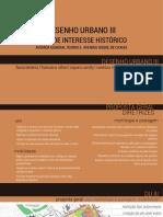 Proposta de intervenção urbana em área histórica - João Pessoa/PB