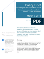 Trade Partnership  Employment Policy Brief