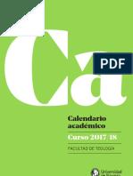 Calendario 17-18 FF Eclesiasticas