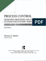 Process Control-Thomas E Marlin