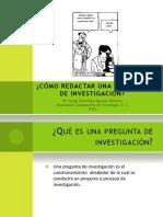 Como Redactar Una Pregunta de Investigacion (1)
