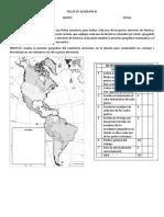 Taller de Geografía-Localización de puntos extremos.