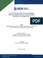 Implementación de Un Sistema Web Para El Control de Inventario en La Ferreteria Christopher