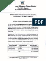 Acta Cabildeo Abierto