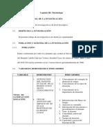 Modelo de Proyecto Capitulo III y IV