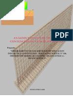 01. Calculo Estructural de Muros de contencion