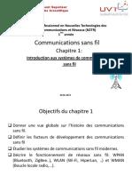 Chapitre 1 Introduction Aux Systèmes de Communications Ss Fil
