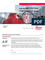 Manual Leica NA 724 (Serie NA 700)