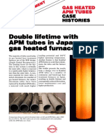 Apm Tubes Gas Heat Treatment Case History