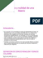 Rango y nulidad de una Matriz.pptx