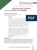 Los Rostros Del Bullying_UNAM