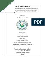 Widia Astuti Sibarani ( Mini Research Ppd )