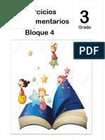 3er Grado - Bloque 4 - Ejercicios Complementarios