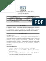 Programa Antropologia e Educação 2016.2