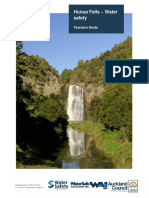 Auckland Council Hunua Falls Water Safety Guide