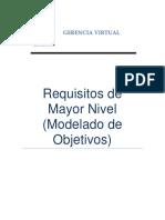 Requisitos de Mayor Nivel