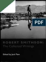 Robert Smithson Robert Smithson the Collected Writings