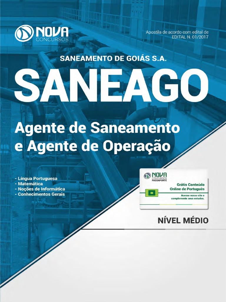 6c6d2cdd874  Apostila SANEAGO - Agente de Saneamento e Agente de Operação (2017)