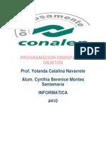 Programacion Orientada a Objetos Yolanda