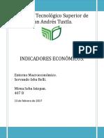 INDICADORES ECONOMICOSm
