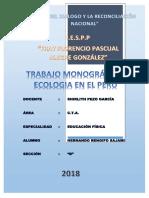 Monografia-la Ecología Del Perú