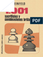 Reinfeld Fred - 1001 Sacrificios y Combinaciones Brillantes. 1973-X, Exe, 320p