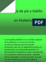 Patologi_a de Pie y Tobillo