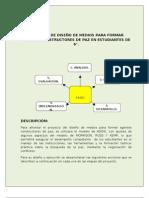 PROYECTO PARA LA FORMACIÓN DE AGENTES DE PAZ.