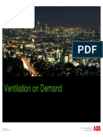 Ventilation on Demand