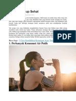25 Cara Hidup Sehat