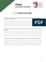 A Fada Oriana - V - A Rainha Das Fadas