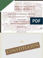 Constitución y Estado