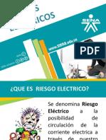 RIESGOS ELECTRICOS.diapositivas