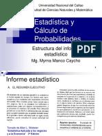 5.Estructura de Informe