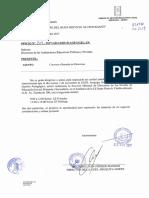 OFICIO N° 3339-2017-GRA CONVOCA A REUNION DE DIRECTORES