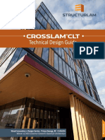 Crosslam CLT Technical Design Guide