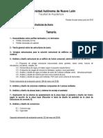 Programa Del Curso de Estructuras de Acero