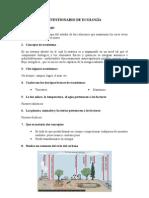 CUESTIONARIO DE ECOLOGÍA
