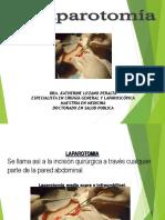 Laparotomia y Suturas