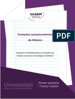 contexto socio-económico de México