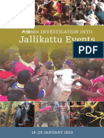 Peta Investigation into Jallikattu Events 14-28 January 2018