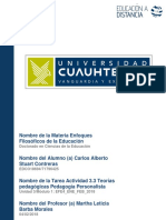 Carlos Alberto Stuart Contreras_Actividad 3.3 Teorías Pedagógicas Pedagogía Personalista