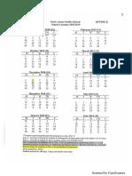 North Adams Public Schools Calendar 2018-2019