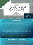 Uji Kai Kuadrat (Chi Square)