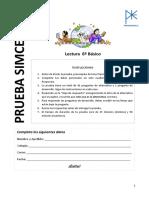 1era Prueba Simce-SEP_6°B_Lenguaje