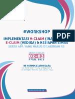 Buku Workshop ARSSI - VClaim (INA CBGs 5,2), EClaim (Vedika) Dan SIMRS