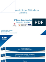 2 Foro Constructor 2015 - Bucaramanga - Sandra Forero  Ram+¡rez