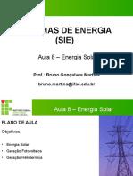 Aula 8 - Sie - Energia Solar