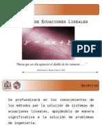 Sesion 3 Sistemas de Ecuaciones Lineales