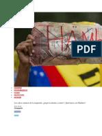 Los (Des) Caminos de La Izquierda Pagar La Deuda o Comer Qué Hacer Con Maduro